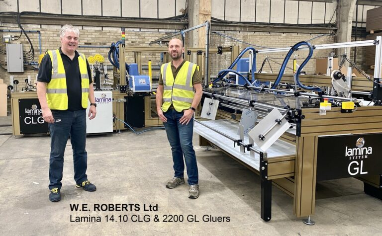 14.10 CLG Auto Folder Gluer and 2200 GL Gluer with Taping Unit